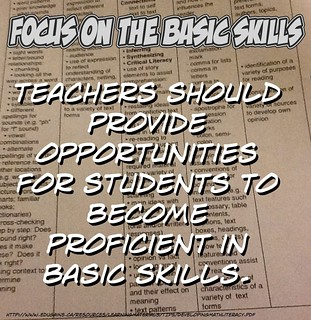 Develop proficiency in the basic skills