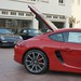 NEW 2014 Porsche Cayman S 981 FIRST PICS in Beverly Hills 90210 Guards Red 1191