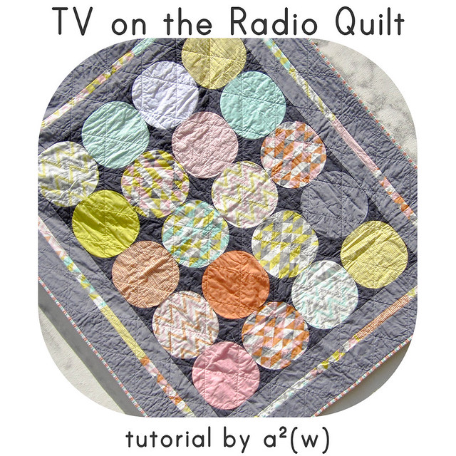 tv on the radio quilt tutorial asquaredw