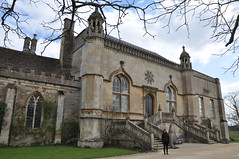Front of Lacock Abbey