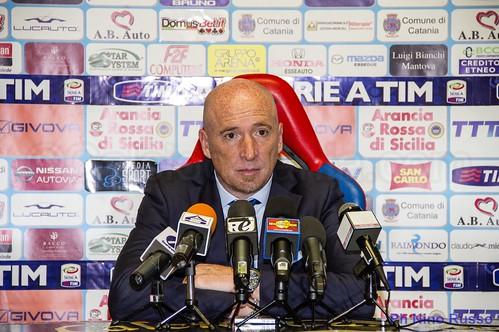"""Catania,Maran:""""Domani in campo con intelligenza""""$"""