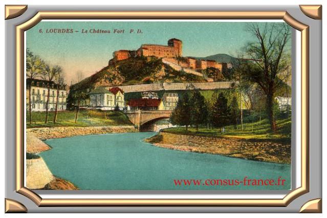 LOURDES - Le Château fort -70-150