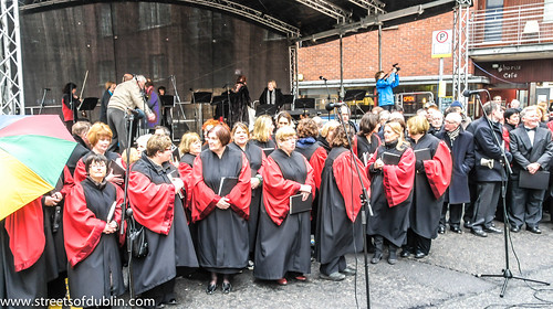 George Friedrich Handel's Messiah Is Performed In Dublin Every Year On The 13th. April - Fishamble Street, Old City, Temple Bar by infomatique