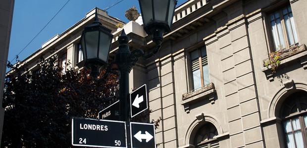 Santiago - Bairro Paris-Londres