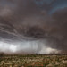 Microburst, Red Dust and Hail [Explored] by Kelly DeLay