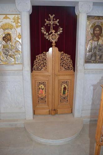Diese Tür darf nur der geweihte Priester durchqueren