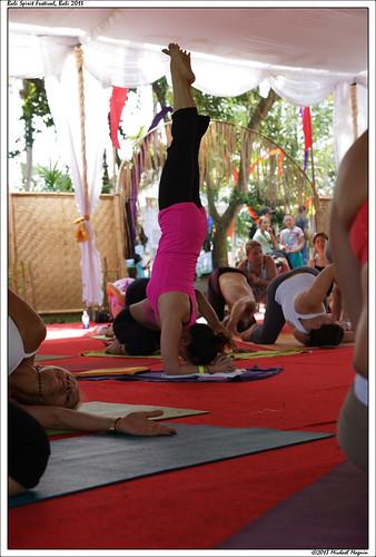 Bali Spirit Festival - Pincha Mayurasana