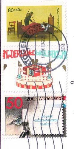 Netherland Postage Stamps Penpals