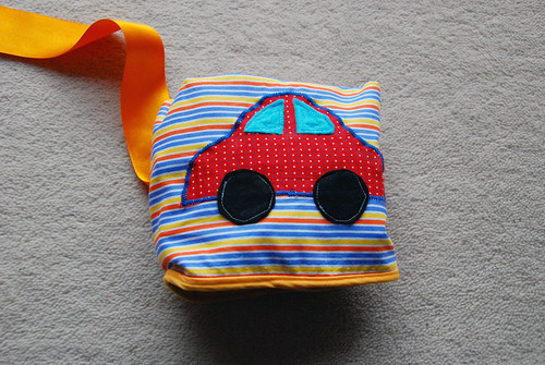 Handmade: Portable car mat