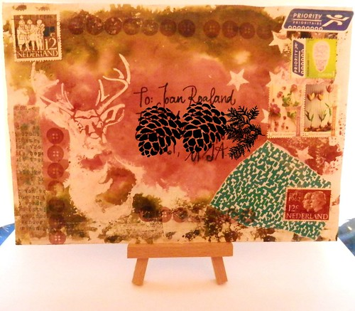 Mail art 365-351 front by Miss Thundercat