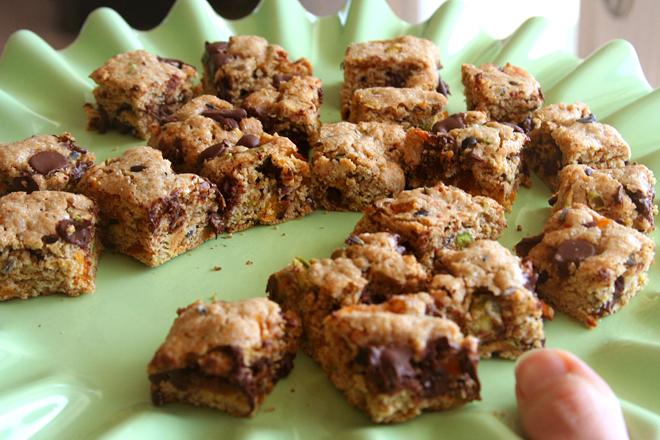 pistachio apricot biscotti 7