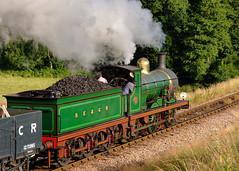 592 charter Bluebell Railway 15/07/16