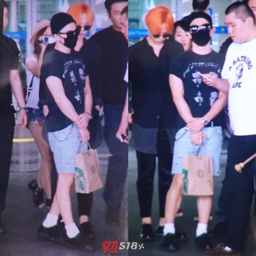 Big Bang - Incheon Airport - 13jul2015 - YB 518 - 02