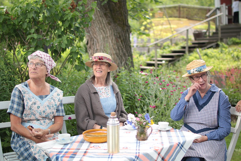 Stockholm Skansen Museum ladies tea