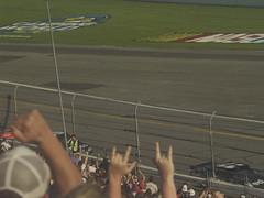 25 Denny Hamilin leads Dale Earnhardt Jr and Jeff Gordon in the Daytona 500