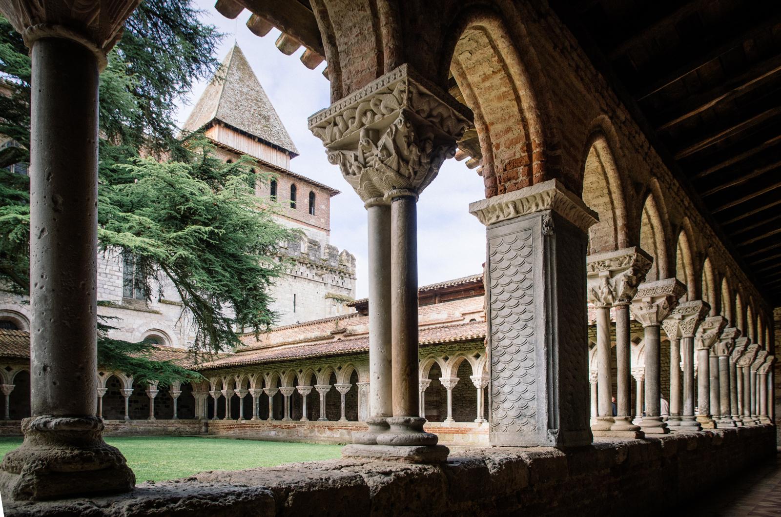 Le cloître de Moissac - carnet de voyage en Tarn-et-Garonne
