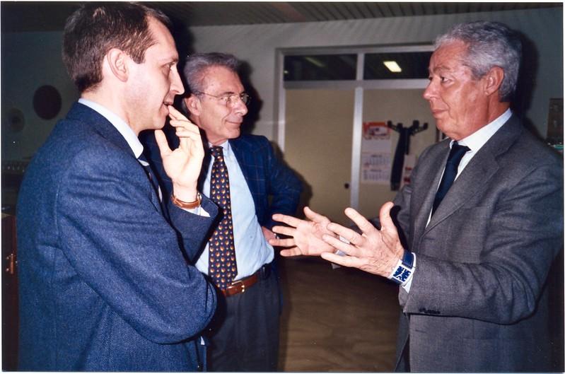 Benedetto Della Vedova, Franco Paticchio e Gianfranco Di Bert