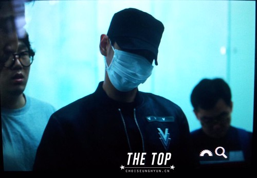 Big Bang - Incheon Airport - 26jun2015 - The TOP - 05