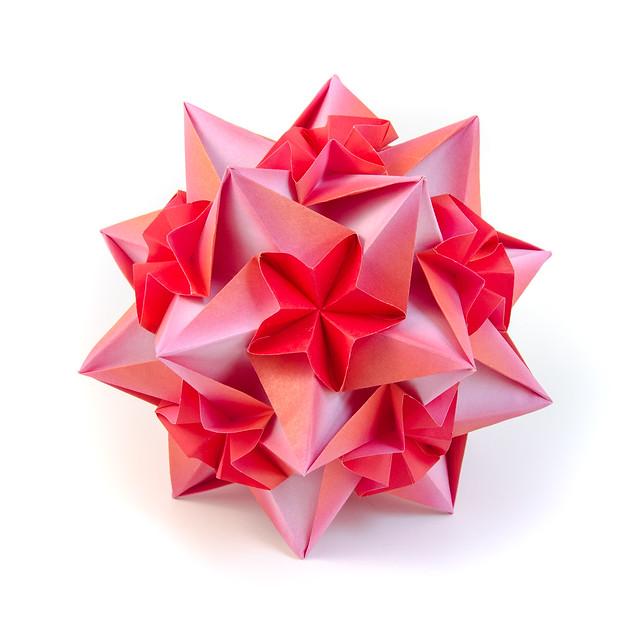 Calypso #origami #kusudama