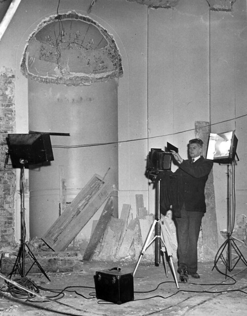 Official Photographer of the White House Renovation, 03/03/1950