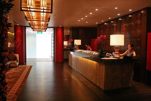 Hai Tien Lo is now at the 3rd floor of Pan Pacific Hotel