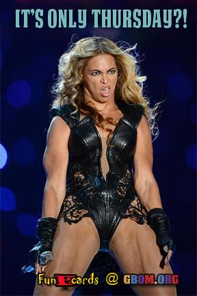 Beyonce Thursday
