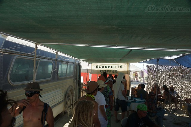 naturist 0140 Burning Man 2012, Black Rock City, NV, USA