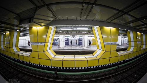 U-Bahn Station Jungfernstieg U4 - Fuji X-Pro 1