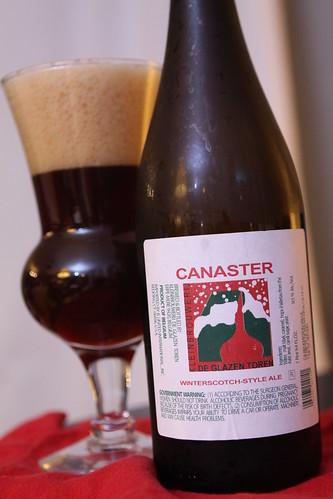 KleinBrouwerij De Glazen Toren Canaster Winterscotch Ale