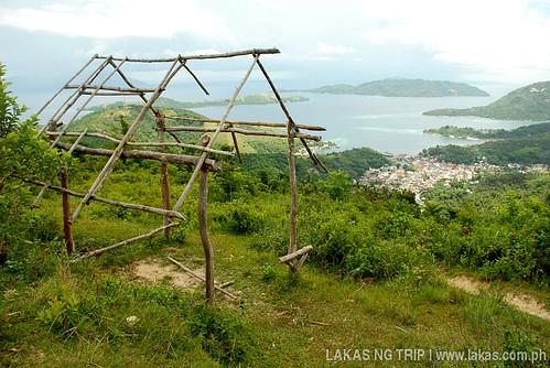 Kubo being constructed at ITT Tower in Romblon Island, Romblon