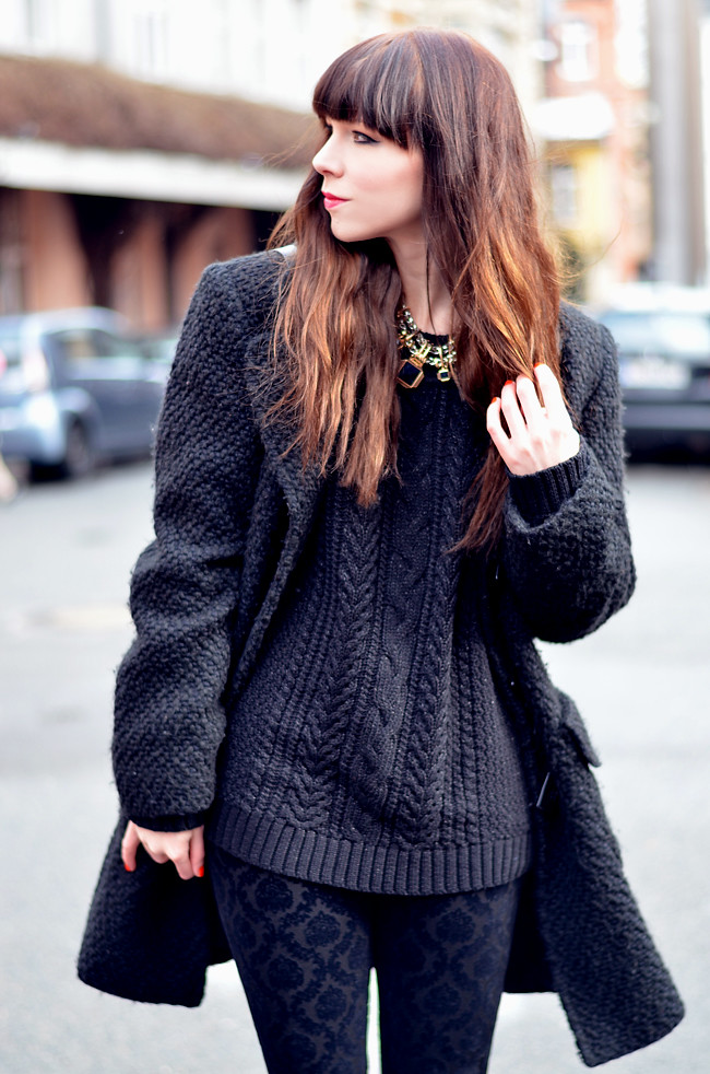 Black Winter Outfit 9