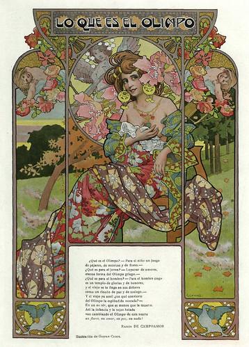 013-Lo que es el Olimpo- Album Salon enero 1903-  Gaspar Camps-Hemeroteca de la Biblioteca Nacional de España