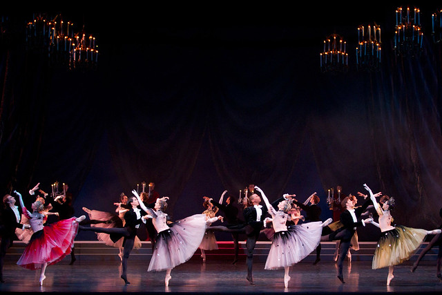 Artists of The Royal Ballet in La Valse © ROH/Johan Persson, 2013