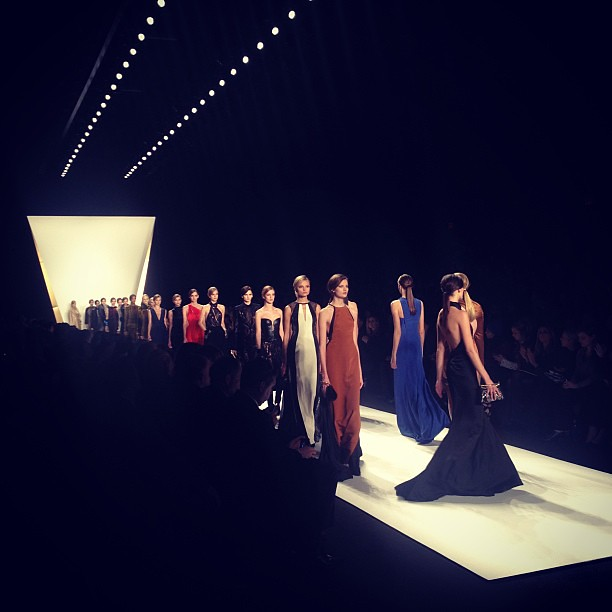 J.mendel wraps it up! #nyfw #fonyfw  #fashionweek #fashionizertv