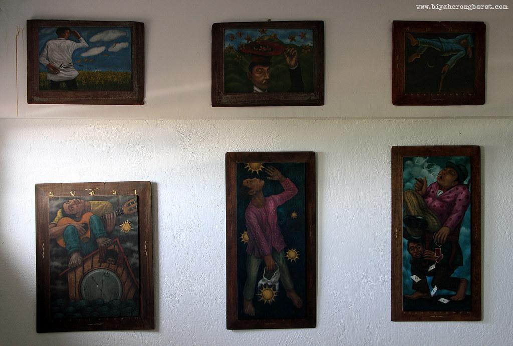 Mark Justiniani Bandehas painting Pinto Art Museum Silangan Gardens Antipolo City, Rizal Province