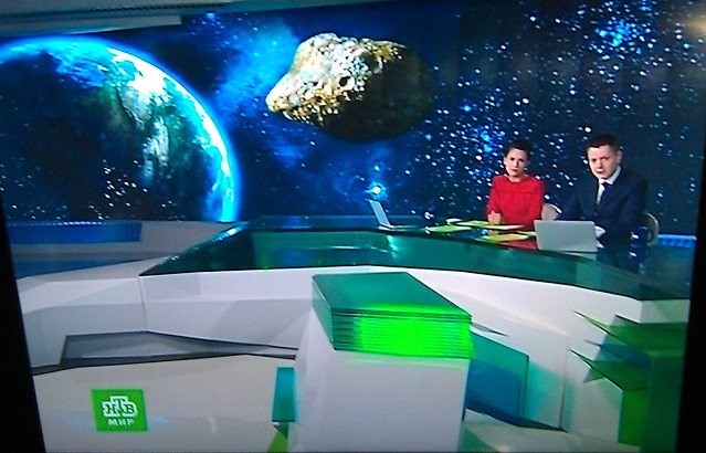 Russian TV (via SBS): Asteroid story