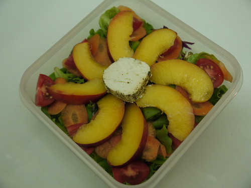 #444 - Nectarine and Chevin Salad