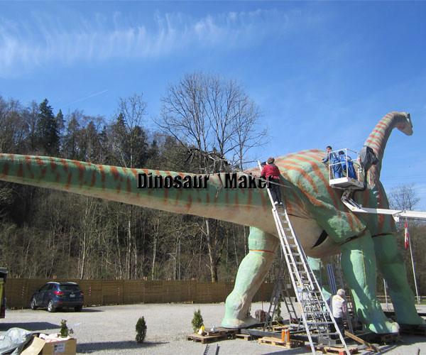 Manufacturing Huge Animatronic Dinosaur