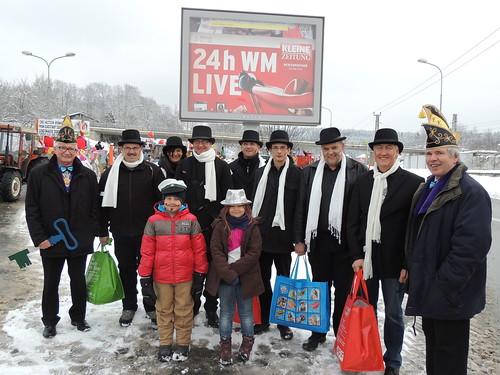 Faschingsumzug Feldkrichen (12.02.2013