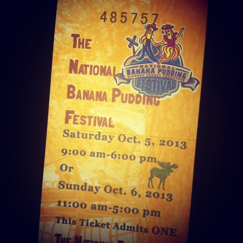 Banana Pudding Festival!