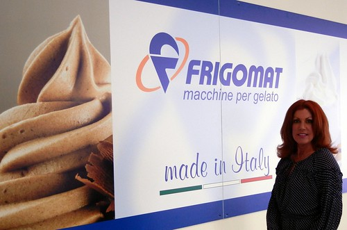 Sweet Ginger tours Frigomat Manufacturing in Italy