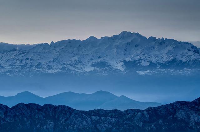The Blue Hour - Before Sunrise, Los Picos de Europa, Asturias