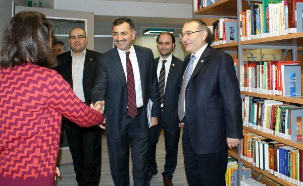 Üsküdar Belediye Başkanı Kara, Rektör Tarhan'ı ziyaret etti… 2