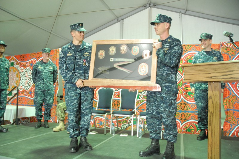 LCDR Matthew Erdner was properly relieved as CO of MCM Crew DOMINANT and USS WARRIOR