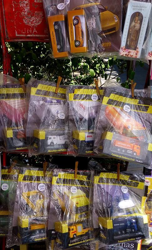 Colecciones en kiosko de Providencia