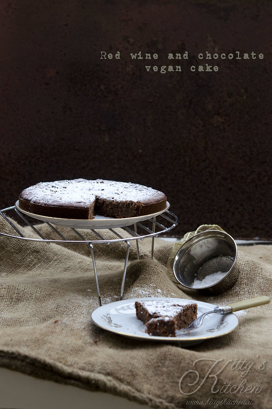 Torta vegan cioccolato e vino rosso_3098