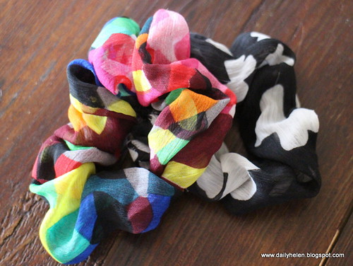 dailyhelen_scrunchies by dailyhelen
