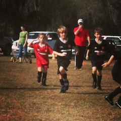 Go Spence Go! 10/4 for the win! (it's not the score that matters) But it's 10 for the win #Whoot #soccer #outdoors