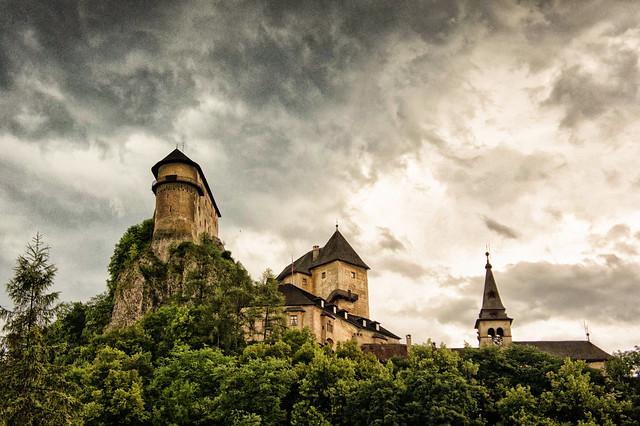 Oravský hrad, Nosferatu's castle | Orava Castle is ...