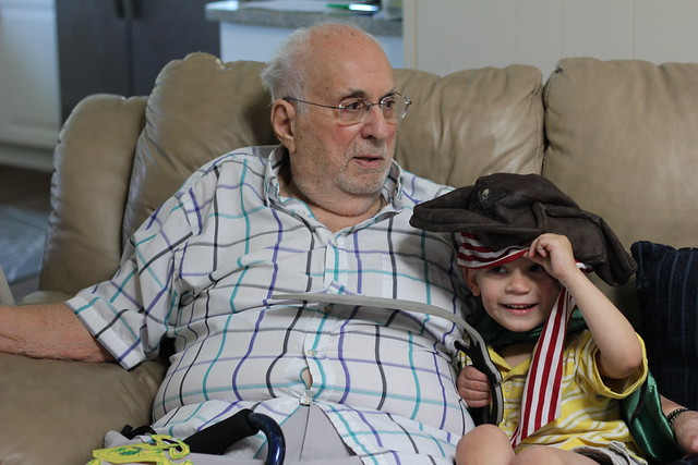 Playing Pirates with Grandpa Joe